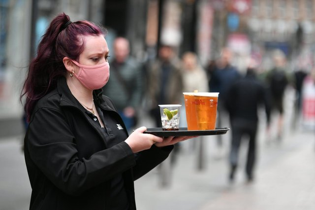 The sector saw the rollback of pandemic restrictions 'unleash' pent-up business and consumer spending. Picture: John Devlin.