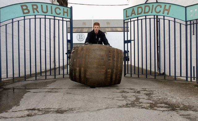 The group in 2012 agreed to buy Islay-based whisky maker Bruichladdich for £58 million. Picture: Jeff J Mitchell/Getty Images.