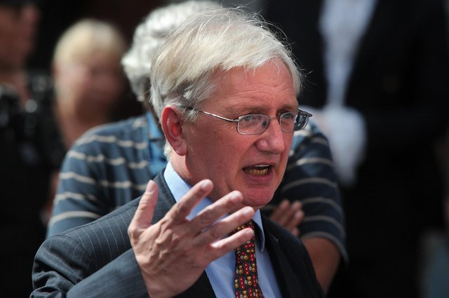 Craig Murray, the former British ambassador to Uzbekistan, was sentenced to eight months in prison for contempt of court. Picture: Carl Court/AFP/Getty