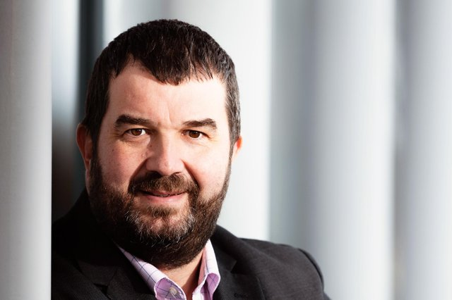 Steve Cook is to lead The Alternative Board's latest launch in Scotland. Picture: Ian Georgeson.