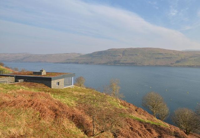 It's hard to imagine a better view of Skye than from the balcony of Hillside Hideaway.