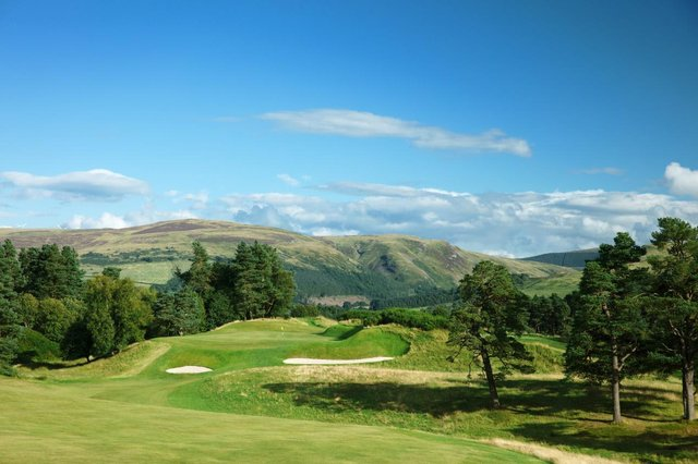 The King's Course at Gleneagles will stage the 2022 Senior Open Presented by Rolex. Picture: European Tour