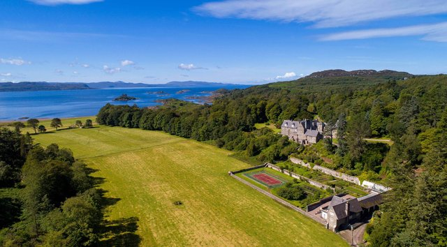 Arisaig House and estate enjoys a spectacular Highlands location.