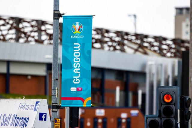 With Hampden Park only able to house 25% capacity for this years Euros, many fans will be attending fan zones in Glasgow Green (Photo by Craig Williamson / SNS Group)