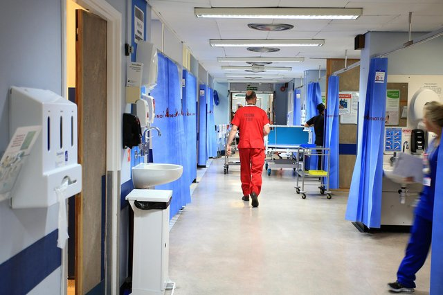 NHS staff numbers are down as a result of Covid-19 infections and 'long-Covid' (Picture: PA)