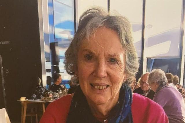 Missing Joyce Kirkland. Picture: Police Scotland