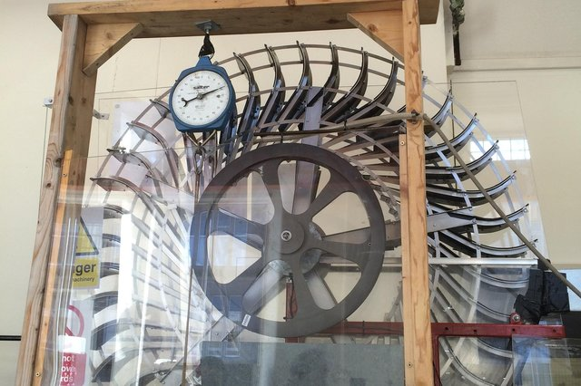 A prototype of the first water wheel to be patented in 138 years. Carruthers Wheel is truly innovative, producing electricity from waterfalls and rivers with less than five metres drop.