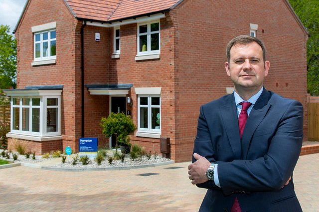 Stewart Lynes, chief operating officer of Miller Homes, said Wallace was a business 'we have long admired'.