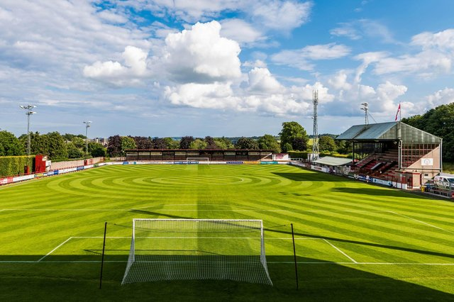 Glebe Park, the home of Brechin City. Picture: SNS