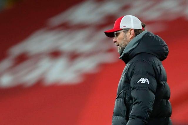Jurgen Klopp has hit a bit of turbulence at Liverpool recently.