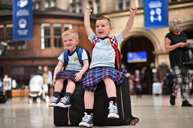 10 photos of the Tartan Army heading to Wembley ahead of the England v Scotland match at Euro 2020.
