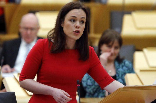 Kate Forbes has written to the Treasury requesting the move