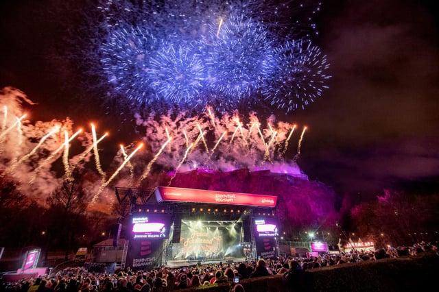 Edinburgh's Hogmanay festival has been staged annually since 1993.