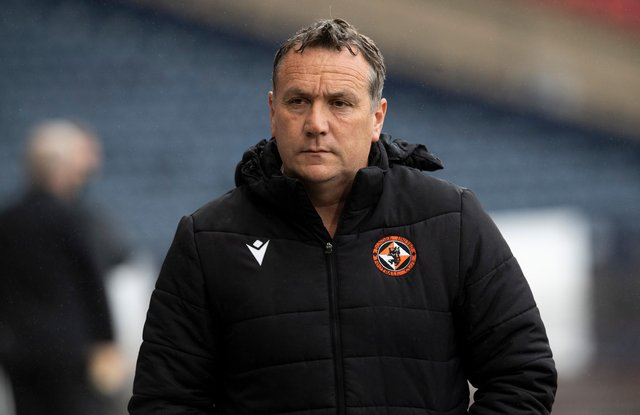 Micky Mellon has left Dundee United after just a year in charge. (Photo by Ross Parker / SNS Group)