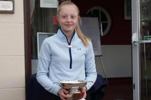 Prestonfield 16-year-old Freya Constable won the Midlothian Women's Championship at the first attempt