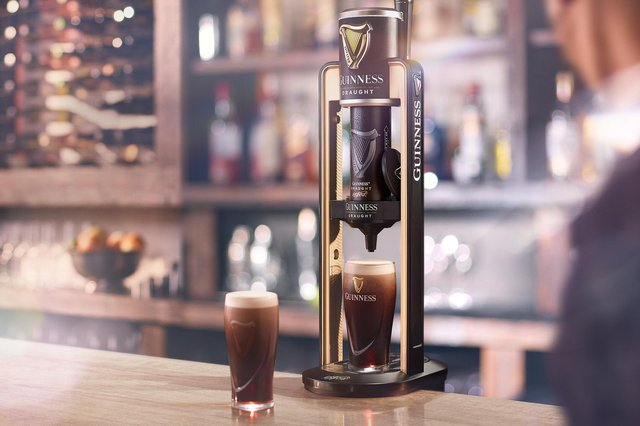 'Keg so small, it comes in a can' will enable Guinness to be poured in more bars and restaurants.
