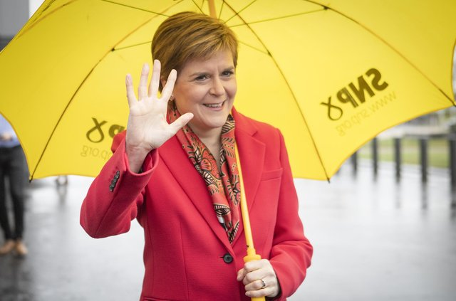 The SNP received £300,000 in a bequest in the first quarter of 2021.
