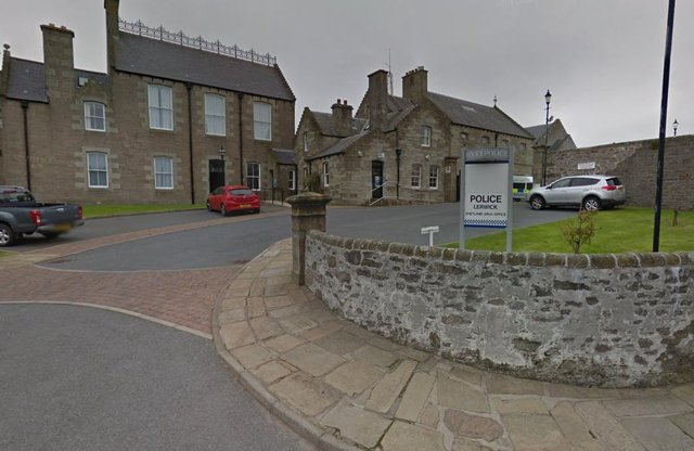 Lerwick police officers were among those involved in the illegal gathering on Friday, May 14.