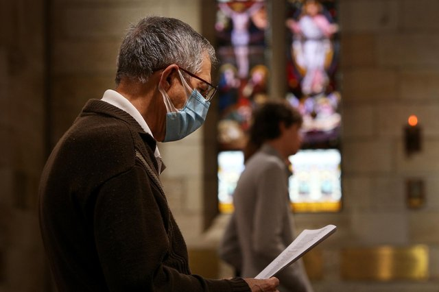 Religious gatherings and places of worship have been curtailed by the pandemic. Picture: Lisa Maree Williams/Getty