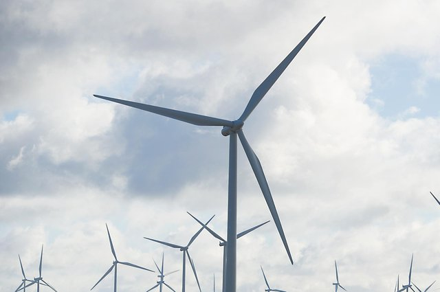 Wind farms and their turbines have become a familiar sight in many parts of Scotland these days. Picture: John Devlin