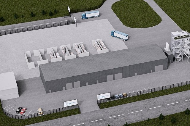 Wood will lead on the delivery of engineering, procurement, and construction solutions for the new facility, with works starting imminently. Image: ReNew ELP