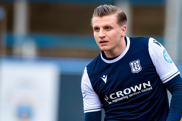 Jason Cummings has impressed for Dundee with five goals in eight starts. Picture: Sammy Turner/SNS