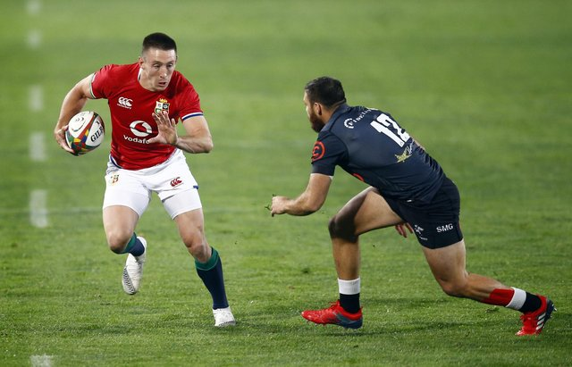 The Lions will be without Josh Adams, the tour's top try-scorer. Picture: Steve Haag/PA Wire