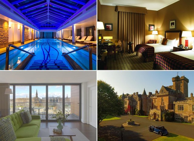 Check out these stunning five star luxury hotels in Scotland.