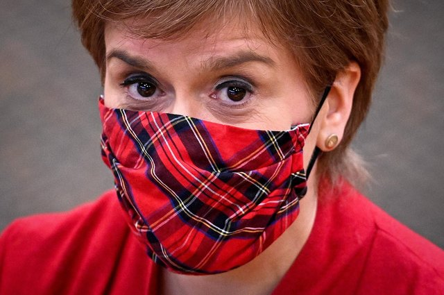 Nicola Sturgeon faces a vote of no confidence this week