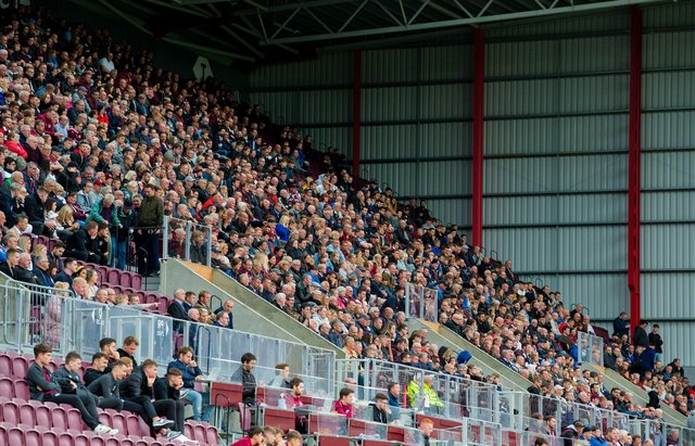 Fans will be back at Tynecastle this month.