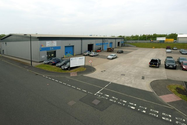 Comprising four units, Clyde Gateway Trade Park in Rutherglen is located three miles south east of Glasgow in the heart of the Clyde Gateway regeneration area. Picture: White House Studios