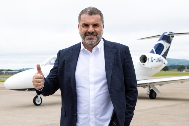 New Celtic Manager Ange Postecoglou has arrived in Glasgow. (Photo by Craig Williamson / SNS Group)