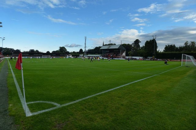 Glebe Park home of Brechin City. (Photo by Mark Runnacles/Getty Images)
