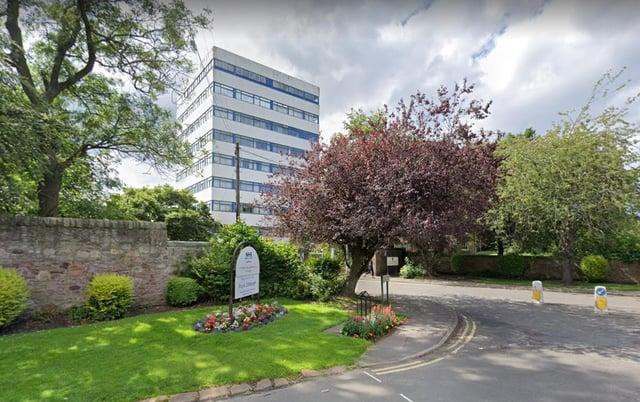 The Royal Edinburgh Hospital.