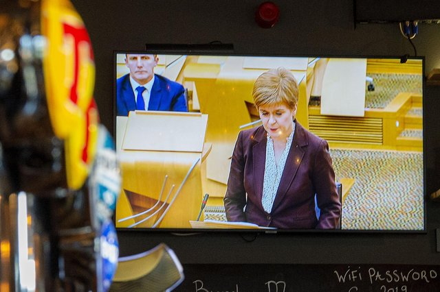 Does Nicola Sturgeon's Covid-beset government have an appetite for drawing up a new version of the 2013 Scotland's Future document? (Picture: Lisa Ferguson)