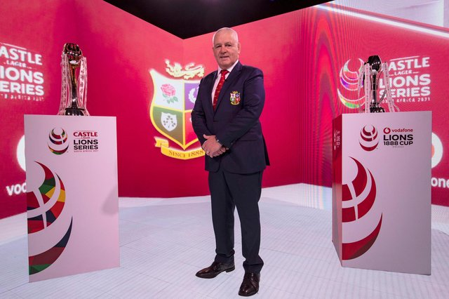 Warren Gatland, head coach of the British & Irish Lions. Picture: Dan Sheridan/Getty Images