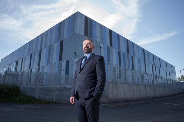 Danny Quinn, managing director of Lanarkshire-based DataVita.