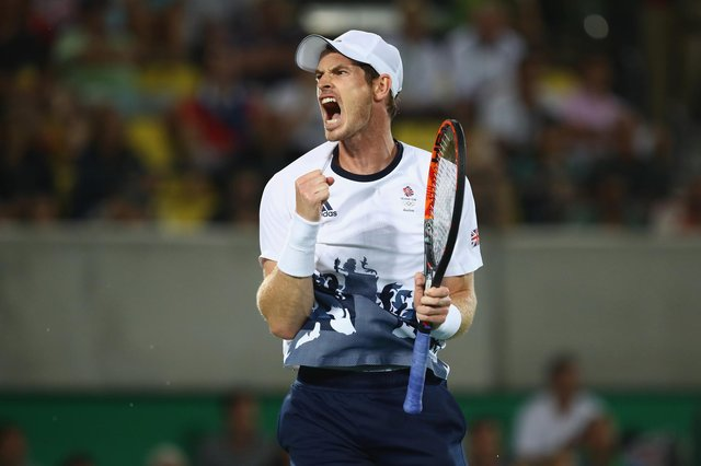 Wimbledon 2021: Andy Murray, pictured above at the Olympic Games in Rio 2016, creates non-fungible token of 2013 Wimbledon triumph. (Image: Clive Brunskill/Getty Images)