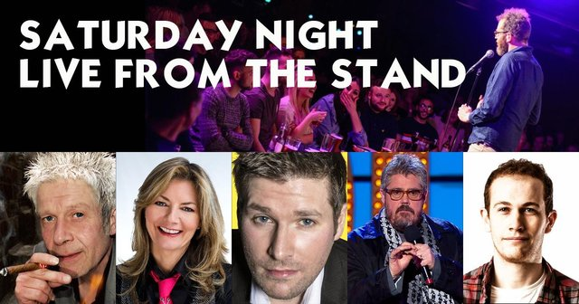 The Stand Comedy Club has been staging an online show every Saturday night during the five-month shutdown of venues to help raise funds.