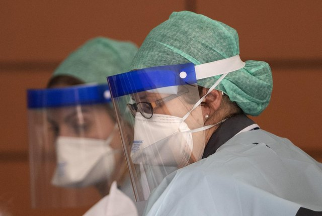 NHS staff had to quickly adapt to cope with the coronavirus pandemic  (Picture: Justin Setterfield/Getty Images)
