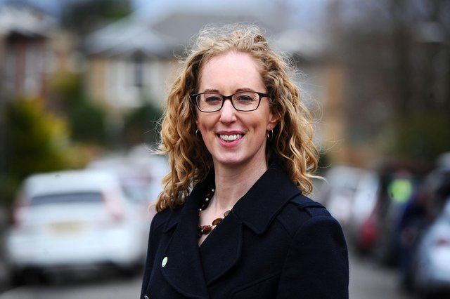 Scottish Green Party co-leader Lorna Slater (Picture: Michael Gillen)