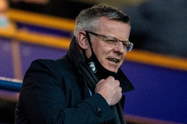 Rangers managing director Stewart Robertson.