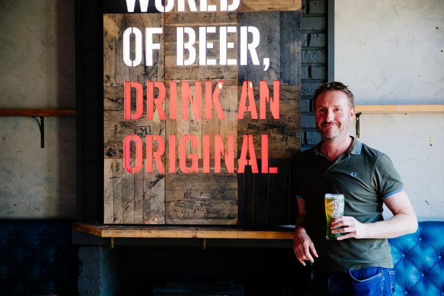 Innis & Gunn founder Dougal Gunn Sharp says that during times of lockdown,  drinkers 'wanted to treat themselves to better beer'.