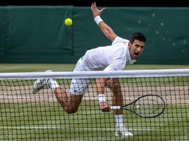 As relentless as ever, Novak Djokovic powers into yet another Wimbledon final