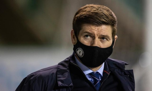 Rangers manager Steven Gerrard and his players have a free weekend after the postponement of their Scottish Cup tie against Cove Rangers. (Photo by Craig Williamson / SNS Group)