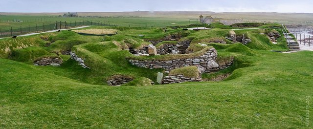The skelton was discovered on a farm  close to the Neolithic settlement of Skara Brae on Orkney but it is not clear if there is a link between the two, with the remains possibly from the later Bronze Age. PIC: Howard Stanbury/Flickr/CC.