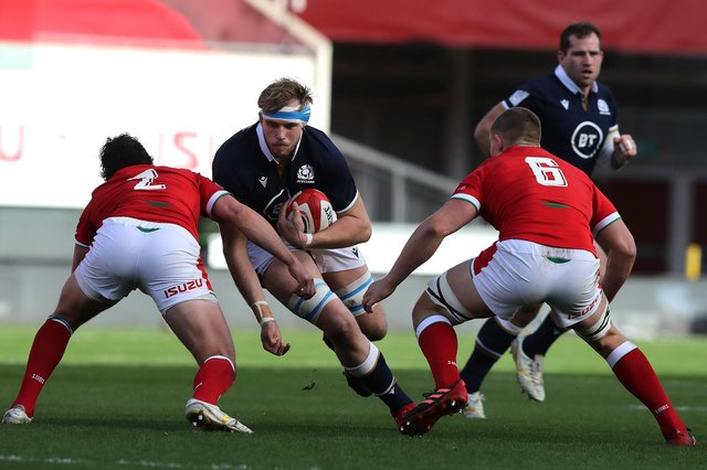 Scotland will take on Wales at an empty Murrayfield on February 13.