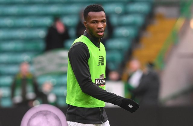Celtic's Boli Bolingoli is alleged to have travelled to Spain and returned without undergoing the 14-day quarantine. Picture: SNS