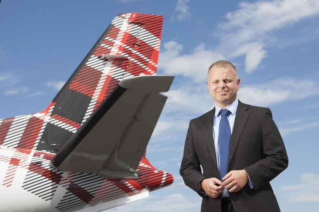 """Loganair chief executive Jonathan Hinkles fears """"draconian"""" travel restrictions could drive airlines from airports"""