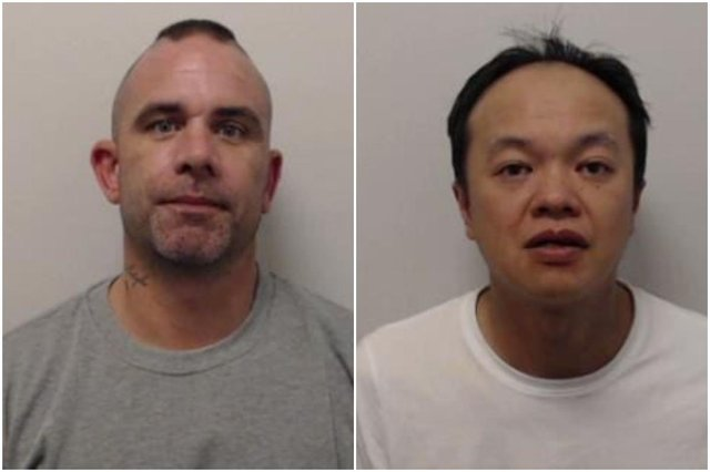 Mark Kirkby, aged 37 years, and 43-year-old Ku Wing Kwok picture: Police Scotland